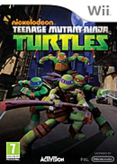 Jaquette de Nickelodeon Teenage Mutant Ninja Turtles Wii