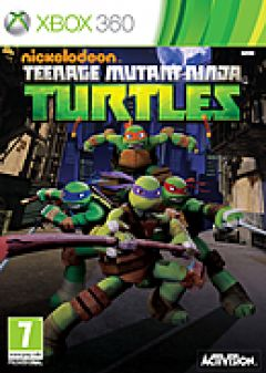 Jaquette de Nickelodeon Teenage Mutant Ninja Turtles Xbox 360