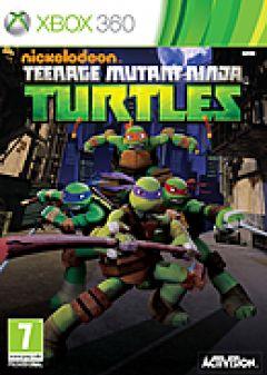 Jaquette de Nickelodeon Teenage Mutant Ninja Turtles Xbox 360