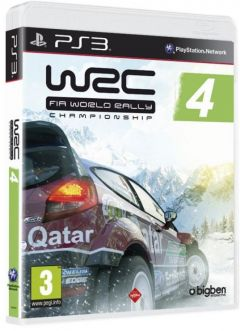 Jaquette de WRC 4 PlayStation 3