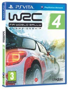 Jaquette de WRC 4 PS Vita
