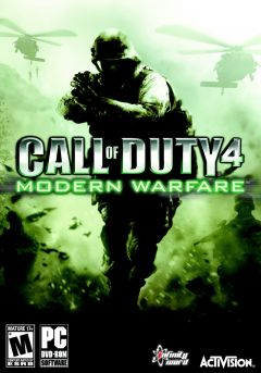 Jaquette de Call of Duty 4 : Modern Warfare PC