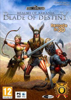Jaquette de Realms of Arkania : Blade of Destiny PC