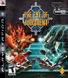 Jaquette de The Eye of Judgment PlayStation 3