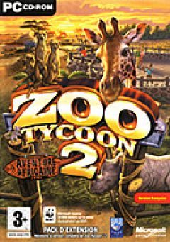 Jaquette de Zoo Tycoon 2 : Aventure Africaine PC