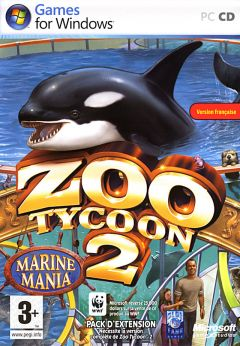 Jaquette de Zoo Tycoon 2 : Marine Mania PC