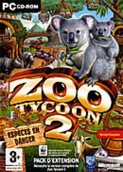 Jaquette de Zoo Tycoon 2 : Espèces en Danger PC