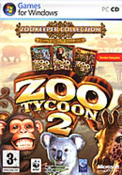 Jaquette de Zoo Tycoon 2 Pack : Zoo Keeper PC