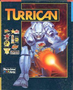 Jaquette de Turrican Commodore 64