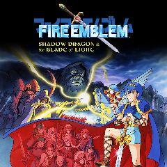 Jaquette de Fire Emblem : Ankoku Ryû to Hikari no Tsurugi NES