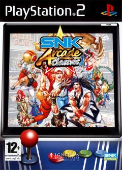 Jaquette de SNK Arcade Classics Volume 1 PlayStation 2