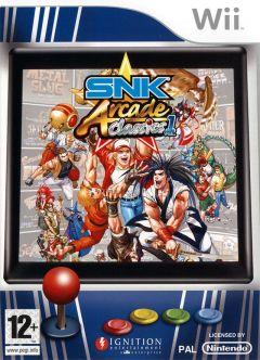 Jaquette de SNK Arcade Classics Volume 1 Wii