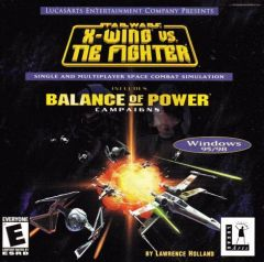 Jaquette de Star Wars : X-Wing vs. Tie Fighter - Balance of Power Campaigns PC