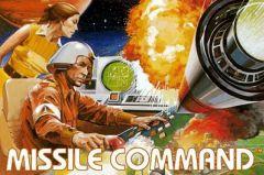 Jaquette de Missile Command Atari 2600