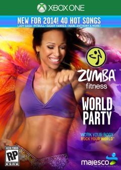 Jaquette de Zumba Fitness : World Party Xbox One