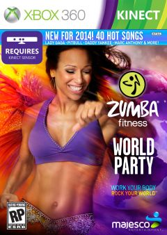 Jaquette de Zumba Fitness : World Party Xbox 360