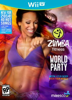 Jaquette de Zumba Fitness : World Party Wii U