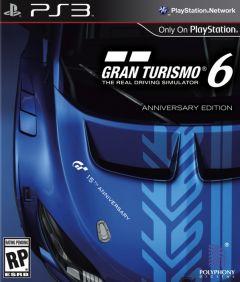 Jaquette de Gran Turismo 6 Anniversary Edition PlayStation 3