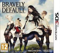 Jaquette de Bravely Default Nintendo 3DS