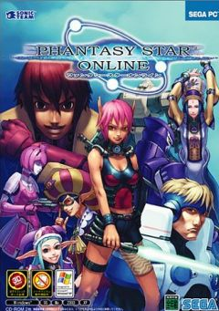 Jaquette de Phantasy Star Online PC