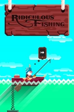 Jaquette de Ridiculous Fishing - A Tale of Redemption iPhone, iPod Touch