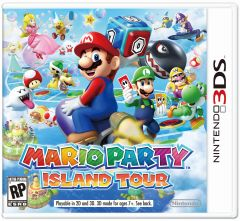 Jaquette de Mario Party : Island Tour Nintendo 3DS