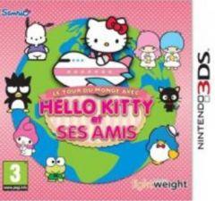 Jaquette de Le tour du monde avec Hello Kitty et ses amis Nintendo 3DS