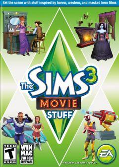 Jaquette de Les Sims 3 : Cinéma Kit d'Objets PC
