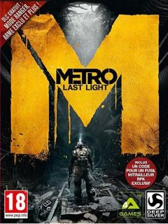Jaquette de Metro : Last Light Mac