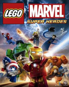 Jaquette de LEGO Marvel Super Heroes PS4