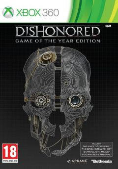 Jaquette de Dishonored : Game of the Year Edition Xbox 360