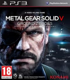Jaquette de Metal Gear Solid V : Ground Zeroes PlayStation 3
