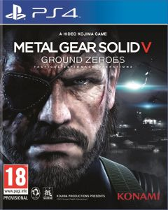 Jaquette de Metal Gear Solid V : Ground Zeroes PS4