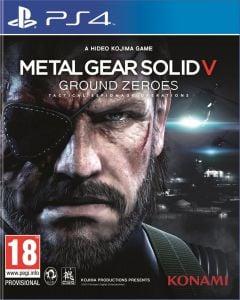Jaquette de Metal Gear Solid V : Ground Zeroes PS4