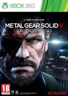 Jaquette de Metal Gear Solid V : Ground Zeroes Xbox 360