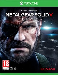 Jaquette de Metal Gear Solid V : Ground Zeroes Xbox One