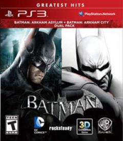 Jaquette de Batman Arkham Bundle PlayStation 3