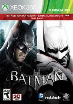Jaquette de Batman Arkham Bundle Xbox 360
