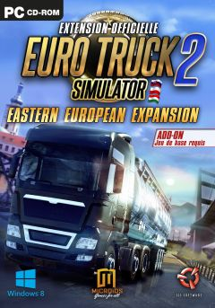 Jaquette de Euro Truck Simulator 2 : Going East PC