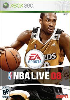 Jaquette de NBA Live 08 Xbox 360