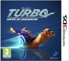Jaquette de Turbo : Equipe de cascadeurs Nintendo 3DS