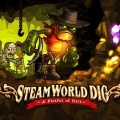 Jaquette de SteamWorld Dig Nintendo 3DS