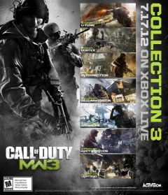 Jaquette de Call of Duty : Modern Warfare 3 - Collection 3 : Chaos Pack PlayStation 3