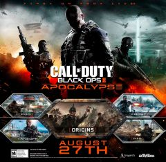 Jaquette de Call of Duty : Black Ops II - Apocalypse PlayStation 3
