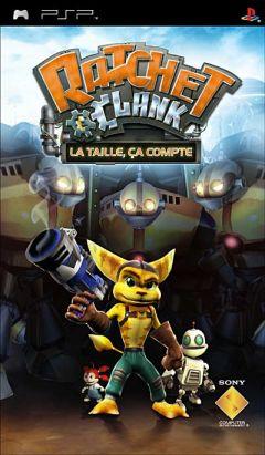 Jaquette de Ratchet & Clank : la taille, ça compte PSP