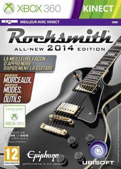 Jaquette de Rocksmith Edition 2014 Xbox 360
