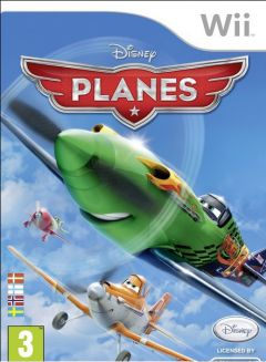 Jaquette de Disney Planes Wii