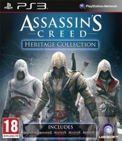 Jaquette de Assassin's Creed : Heritage Collection PlayStation 3