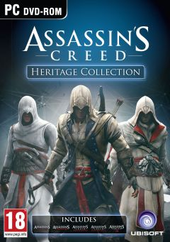 Jaquette de Assassin's Creed : Heritage Collection PC