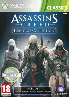 Jaquette de Assassin's Creed : Heritage Collection Xbox 360